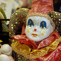 "photo ""Mardi Gras doll"""