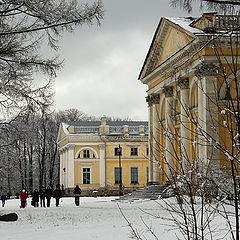 "photo ""Alexander's Palace in Pshkin"""