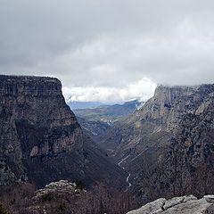 """фото """"Vikos gorge."""""""