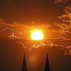 """фото """"Закат солнце"""""""