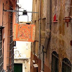 """photo """"old corners in old Genoa, Italy"""""""