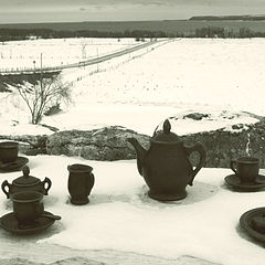 "photo ""Cold Lonely Tea Party"""