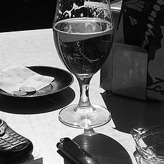 "photo ""still-life with beer"""