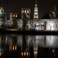 """photo """"Novodevichy a monastery"""""""