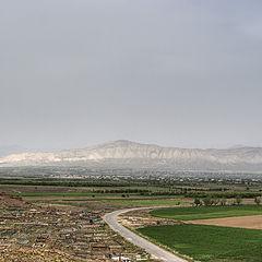 "фото ""Graveyard and Ararat valley"""