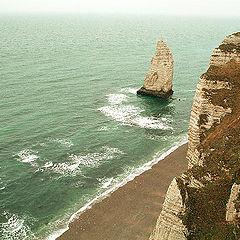 """фото """"Нормандия, март 2008. отлив."""""""