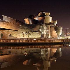 """фото """"Guggenheim by night"""""""