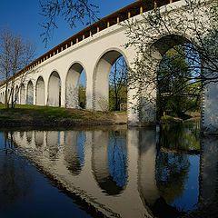 "photo ""Rostokinskiy aqeuduct (Moscow)"""