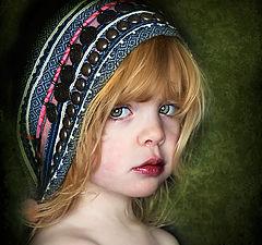 "photo ""The head scarf"""
