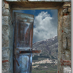 "photo ""The door on the nature"""
