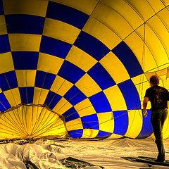 "photo ""In to the ballon"""