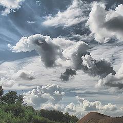 """фото """"Плыли в небе облака..."""""""