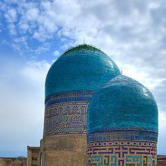 """фото """"Голубые купола Самарканда"""""""