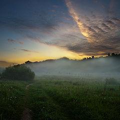 """фото """"Долина утром"""""""