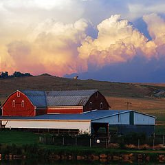 "photo ""Barn Near Sunset"""