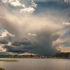 """фото """"Взрыв облаков"""""""