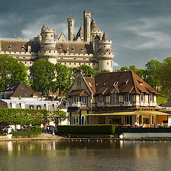 "photo ""Chаteau de Pierrefonds"""