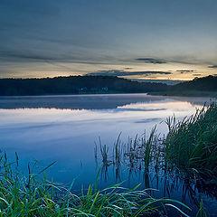 """фото """"Вечером на озере"""""""
