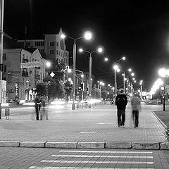 """фото """"Ночь в черном и белом"""""""