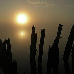 """фото """"Утро туманное, утро манящее..."""""""