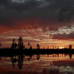 """фото """"Прелесть заката."""""""