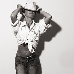 """photo """"The cowgirl"""""""