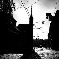 """фото """"Kостёл а тень"""""""