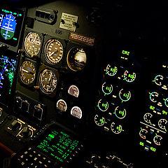 "фото ""Cockpit 737"""