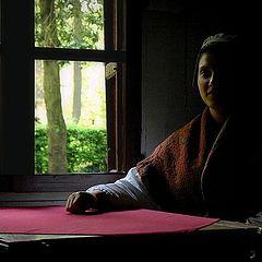 """photo """"girl on window"""""""