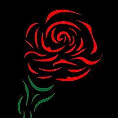 """фото """"красная роза"""""""