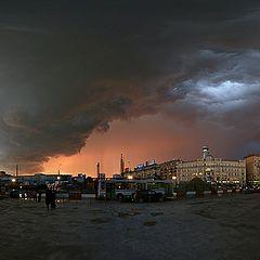 "фото ""Москва. 02-06-2008. У Павелецкого вокзала."""