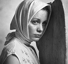 """photo """"портрет девушка черно-белая фотография Дмитрий Рязанов"""""""