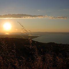 """фото """"Sunset on Izmit Gulf"""""""