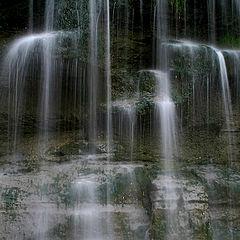 """фото """"rock glen falls close"""""""