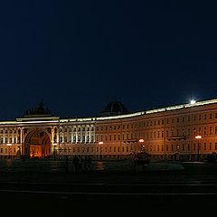"""фото """"Ночь на Дворцовой площади"""""""