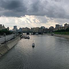 "photo ""Moscow. Evening panorama"""