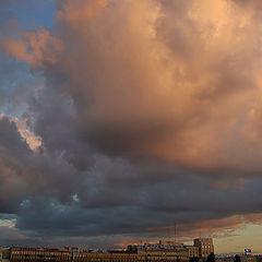 """фото """"южные облака """"северной столицы"""""""""""