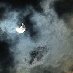 "фото ""Cолнечное затмение"""