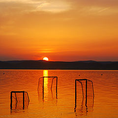 """photo """"Balaton sunset"""""""
