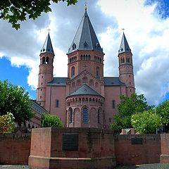 "photo ""Mainz Cathedral"""
