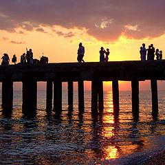 """фото """"Море, лето, закат"""""""