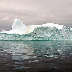 """photo """"Iceberg Reflection"""""""