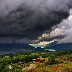 """photo """"Autumn in the Norwegien mountein"""""""