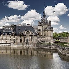"""photo """"Chateau de Chantilly"""""""
