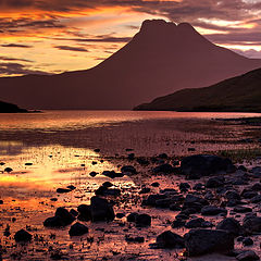 "фото ""Loch Lurgainn, Scottish Highlands"""