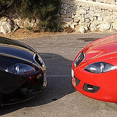 "photo ""Red & black"""