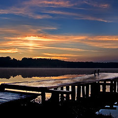 "photo ""Waiting for daybreak"""