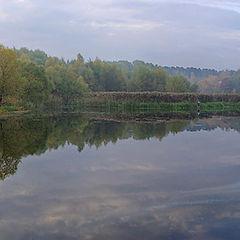 """photo """"Early autumn. Fog"""""""