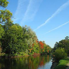"photo ""Floating down Autumn"""