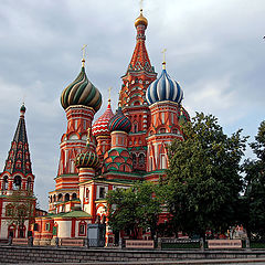 """photo """"St. Basil's Cathedral. Moscow"""""""